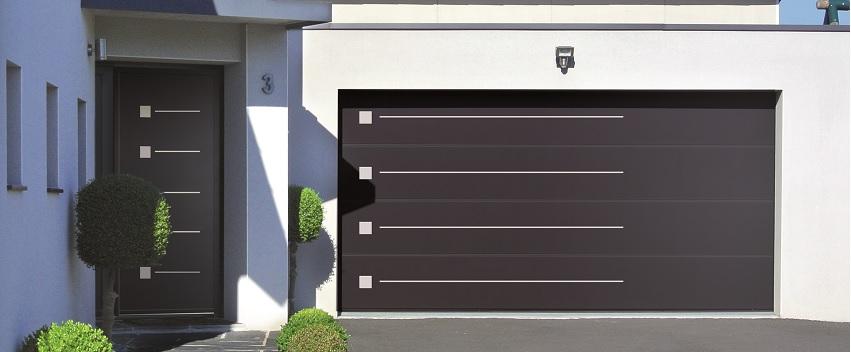 Porte de garage automatique de fabrication française